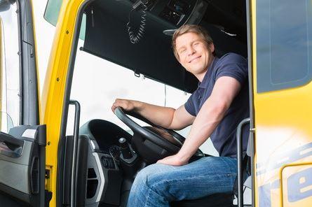 Male Truck Driver