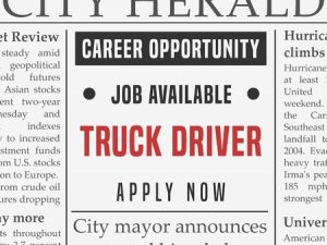 Truck Driver Placement Agency