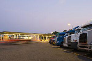 Trucks at Truck Stops