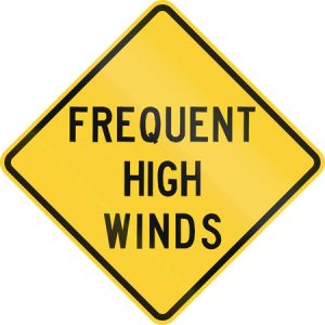 Driving a Truck in High Winds